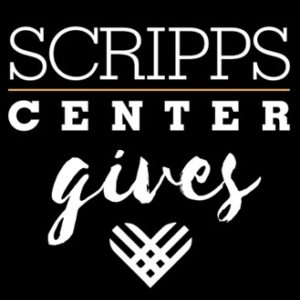 Scripps Center Gives (Giving Tuesday logo)